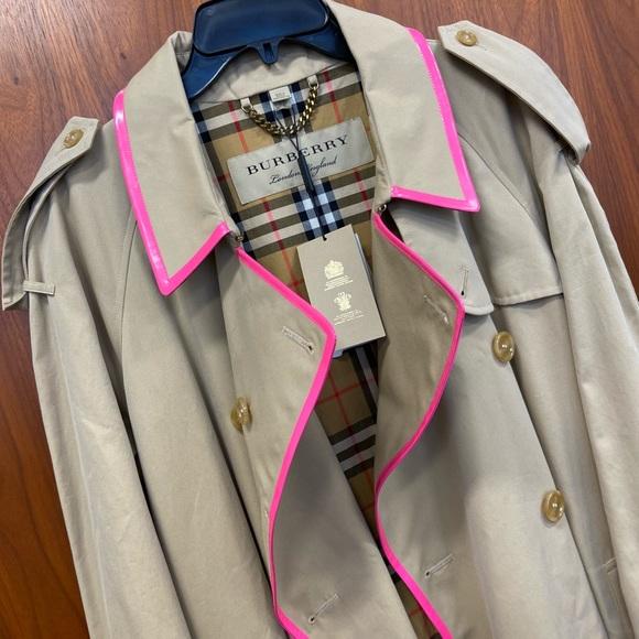 Long Burberry coat